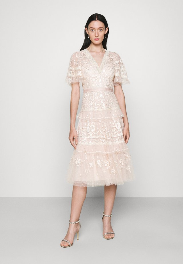 FRANCINE DRESS - Occasion wear - strawberry icing
