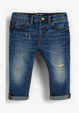 DISTRESSED  - Slim fit jeans - blue denim