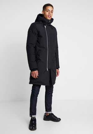 GROUND - Down coat - black