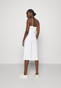 Abercrombie & Fitch - PRINT MIDI DRESS - Day dress - white grounded - 2