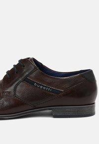 Bugatti - MORINO - Lace-ups - brown - 6