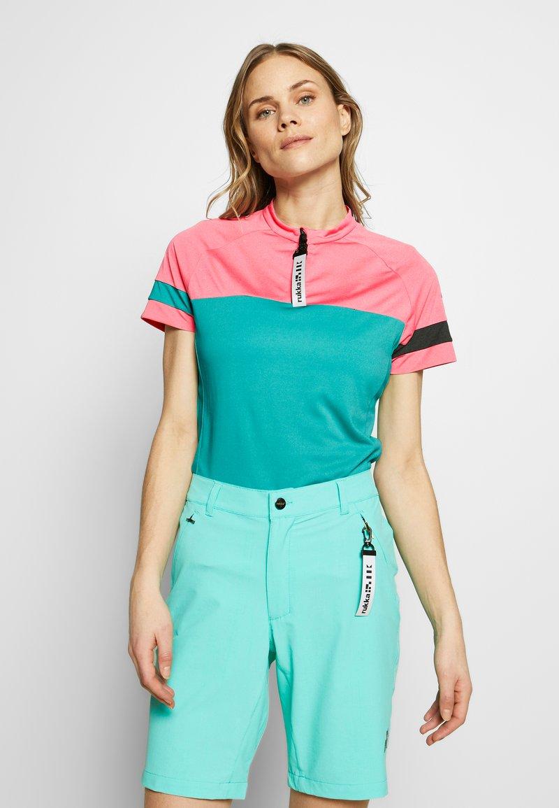 Rukka - RUOVESI - T-Shirt print - green