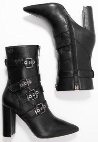 Liu Jo Jeans - SHANA - Bottines à talons hauts - black - 3