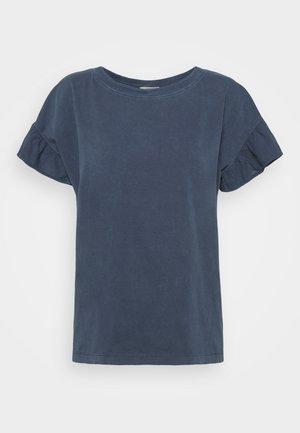 WASH TEE - Print T-shirt - navy