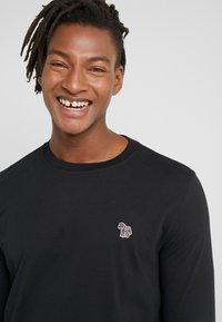 PS Paul Smith - ZEBRA - Long sleeved top - black - 3