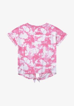 KNOTENDETAIL - Print T-shirt - sachet pink|rose