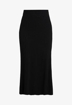 AMILIA SKIRT - Maxi sukně - black