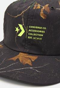 Converse - MOUNTAIN CLUB REALTREE STRAPBACK UNISEX - Cap - black - 3