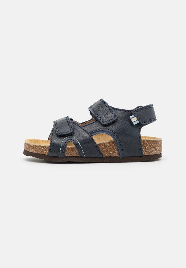 NATURA  - Sandals - dark blue