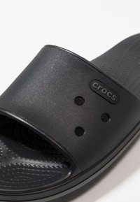 Crocs - CROCBAND III  - Pool slides - black/graphite - 5