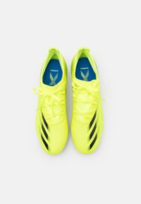 adidas Performance - X GHOSTED.3 MG - Kopačky lisovky - solar yellow/core black/royal blue - 3