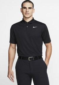 VICTORY - Sports shirt - black/white