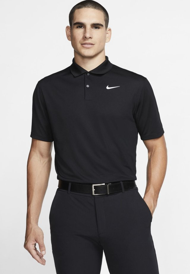 DRY VICTORY SOLID - T-shirt sportiva - black/white