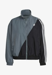 adidas Originals - ADICOLOR SLICED TREFOIL  - Training jacket - blue - 6