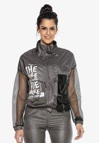 Cipo & Baxx - Training jacket - smoked - 0