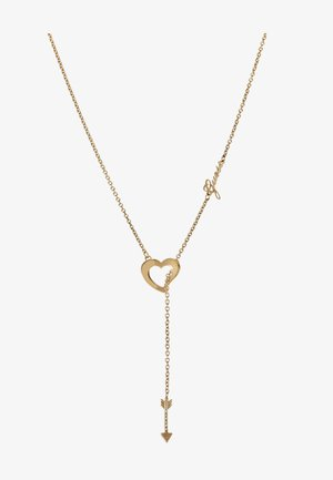 ACROSS MY HEART - Necklace - gold-coloured