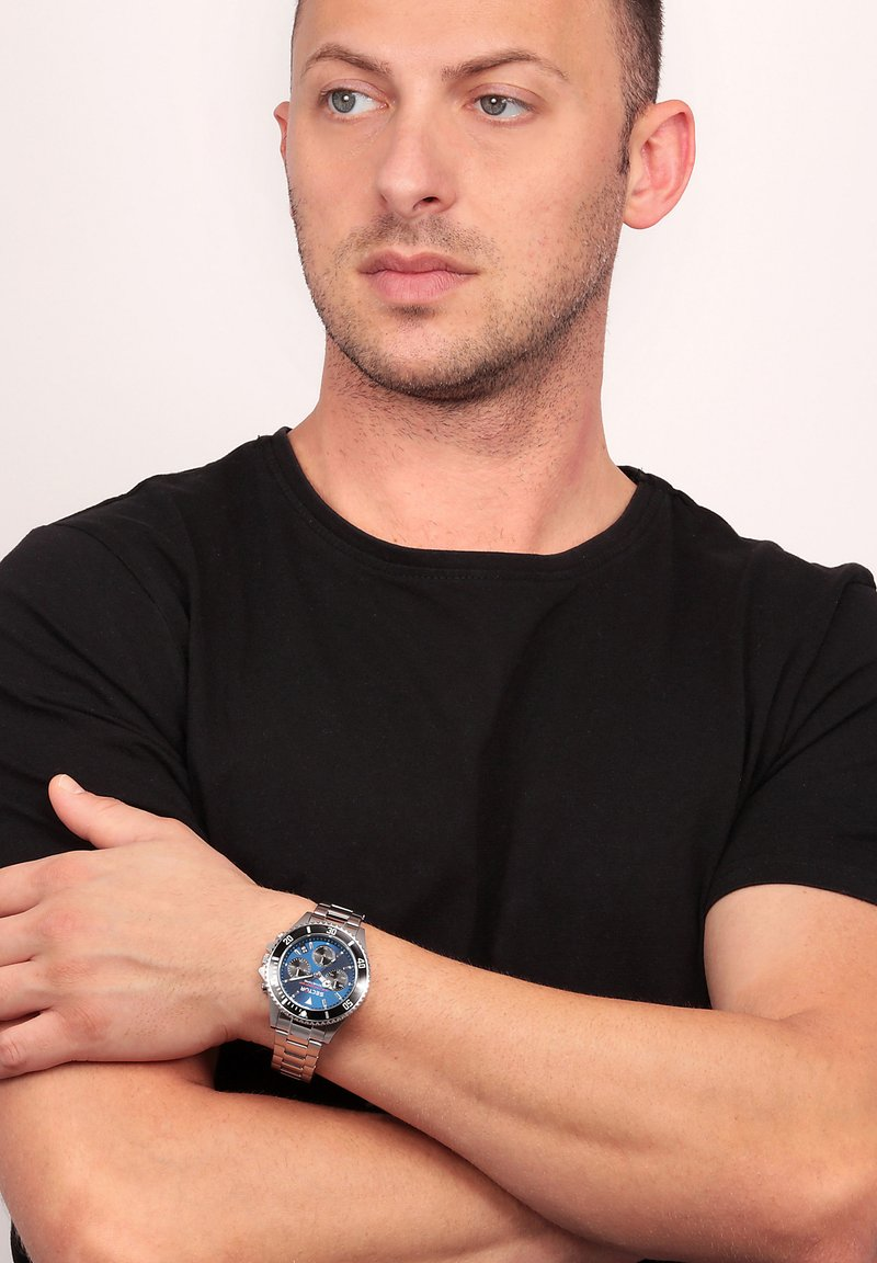Sector - Chronograph watch - blau silber