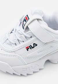 Fila - DISRUPTOR INFANTS UNISEX - Sneaker low - white - 5
