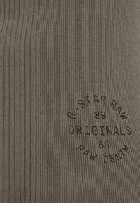 G-Star - ENGINEERED TANK DRESS - Shift dress - grey - 5