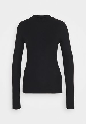 HIGH NECK LONGSLEEVE - Topper langermet - black