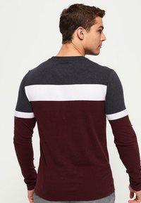 Superdry - ORANGE LABEL - Long sleeved top - minted burgundy red - 1