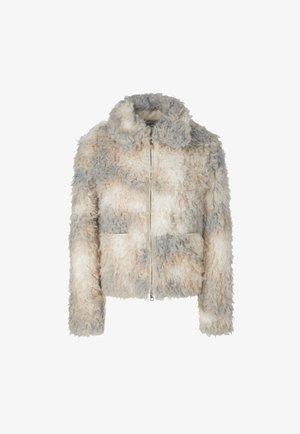 Fleece jacket - silver grey