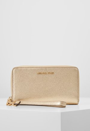Wallet - pale gold
