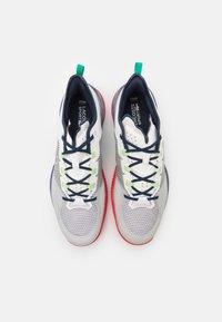 Lacoste Sport - AG LT 21 ULTRA - All court tennisskor - white/blue - 3