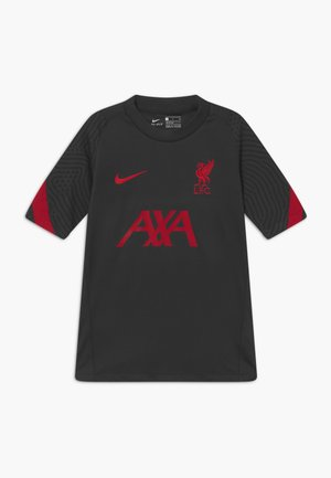 LIVERPOOL FC - Club wear - anthracite/gym red