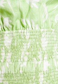 Bec & Bridge - WINDSWEPT MINI DRESS - Vapaa-ajan mekko - green - 5