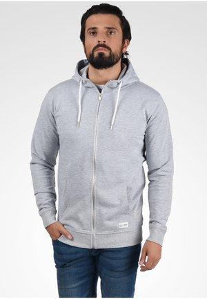 TAMBO - Zip-up hoodie - light grey melange