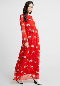 IVY & OAK - MATERNITY DRESS - Maxi dress - lovers red - 0
