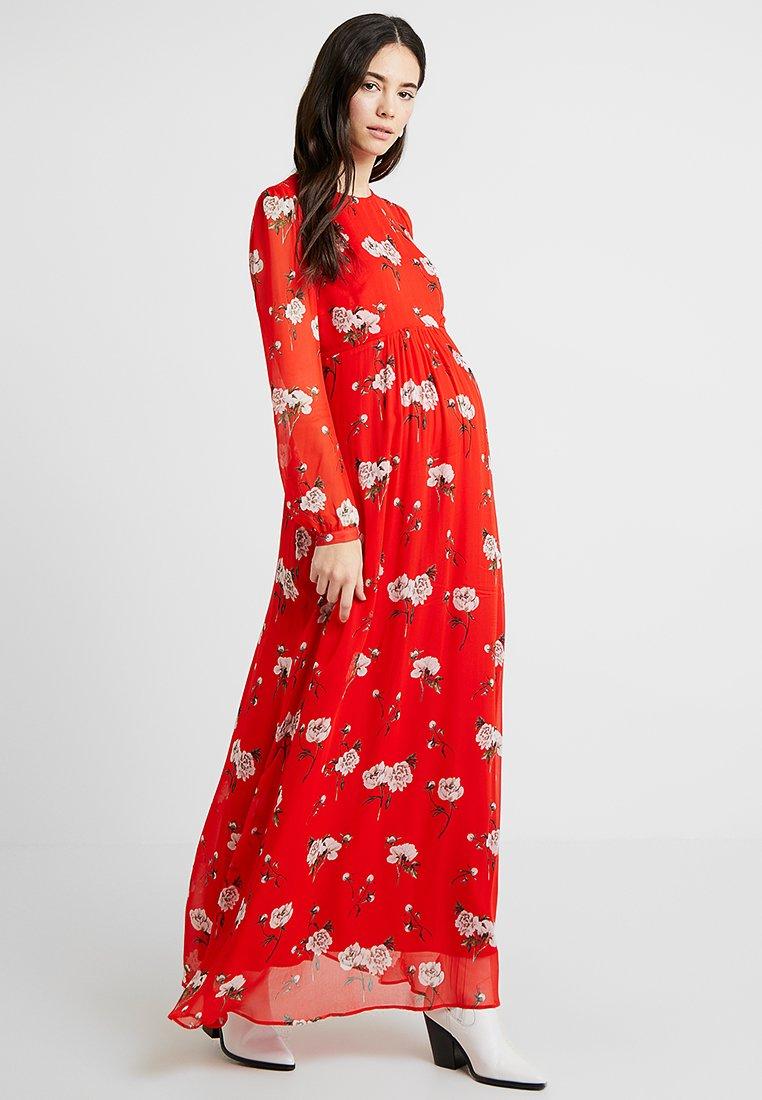 IVY & OAK - MATERNITY DRESS - Maxi dress - lovers red