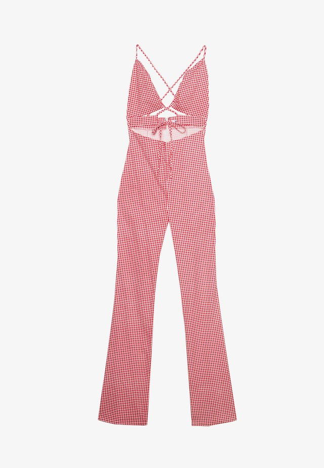 JERRICO - Jumpsuit - red