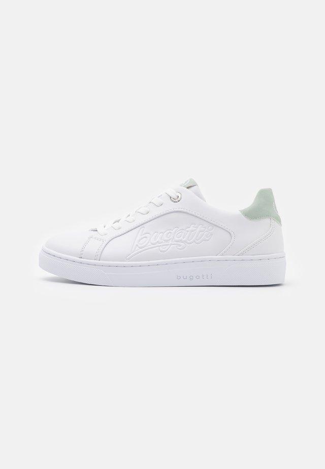 ELEA - Sneaker low - white/light green