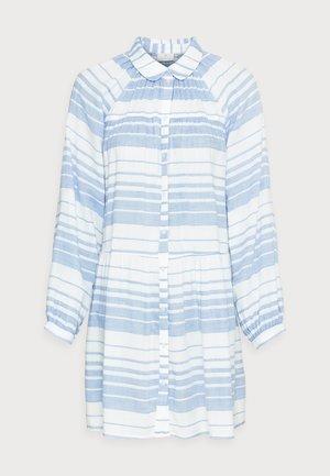 KASILLA SHIRT DRESS - Paitamekko - forever blue/chalk