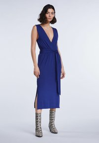 SET - SET KLEID - Day dress - blue print - 1