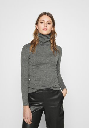 ONLJOANNA ROLLNECK  - T-shirt à manches longues - dark grey melange
