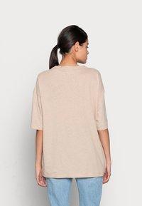ARKET - T-shirt basique - beige - 2