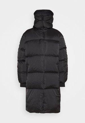 PUFF THINK TWICE - Down coat - black