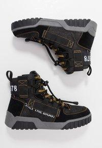 Diesel - S-RUA MID SP - Sneakers high - black - 1