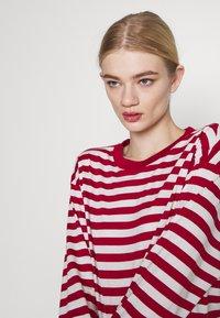 Monki - MAJA 2 PACK - Long sleeved top - red/white - 3