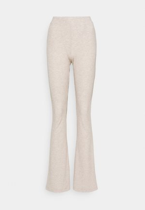 ONLNELLA FLARED PANT - Trousers - pumice stone/melange