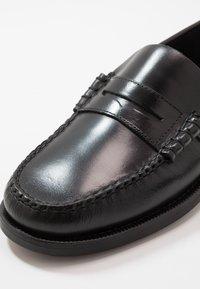 Sebago - DAN WAXY - Smart slip-ons - black - 5