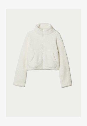 Fleece jacket - latte