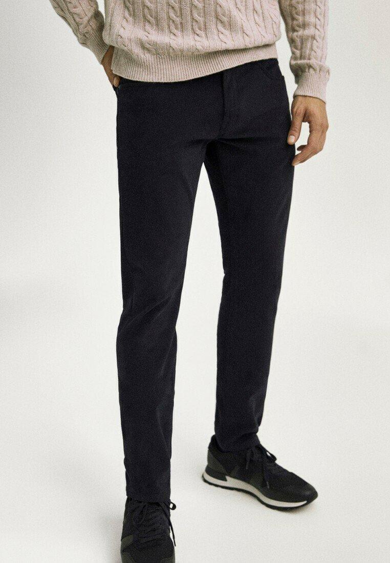 Massimo Dutti - Slim fit jeans - black denim