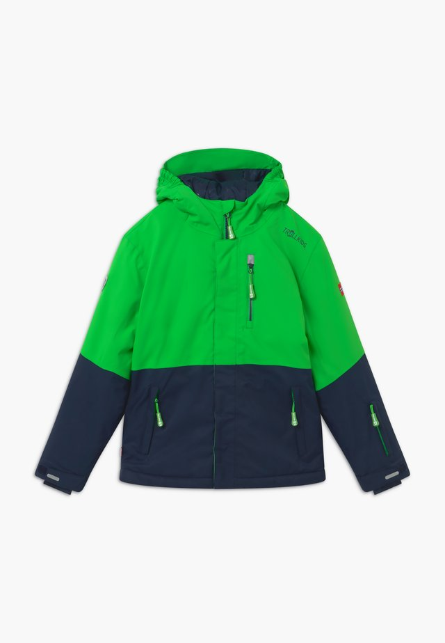 KIDS HALLINGDAL - Snowboardjas - bright green/navy
