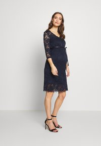 MAMALICIOUS - MLMIVANA DRESS - Cocktail dress / Party dress - navy blazer - 1