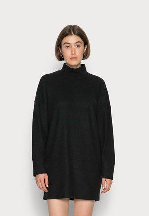 COZY - Strikket kjole - black