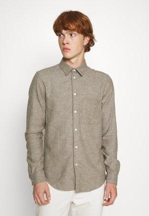 LIAM SHIRT - Shirt - dark olive melange